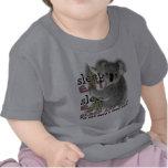 La koala linda come y duerme camiseta