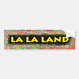 La La Land Bumper Sticker Car Bumper Sticker