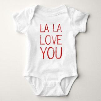 LA LA LOVE YOU BABY BODYSUIT
