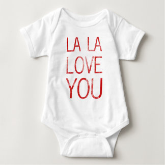 LA LA LOVE YOU BABY BODYSUIT
