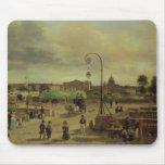 La la plaza de la Concordia en 1829 Alfombrillas De Raton