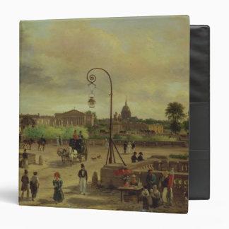 """La la plaza de la Concordia en 1829 Carpeta 1 1/2"""""""