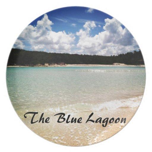 La laguna azul plato de comida