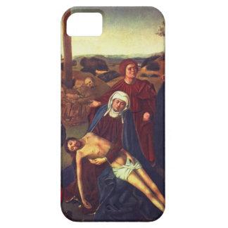 La lamentación de Petrus Christus iPhone 5 Case-Mate Carcasa