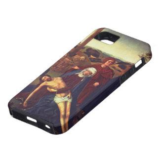 La lamentación de Petrus Christus iPhone 5 Carcasas