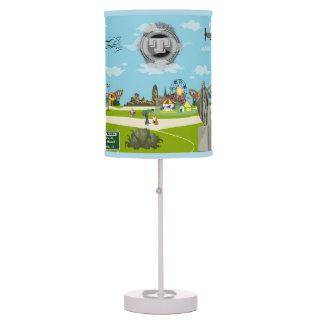 La lámpara adaptable de la historia del parque