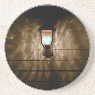 la lámpara con ángel se va volando la reflexión en posavasos manualidades