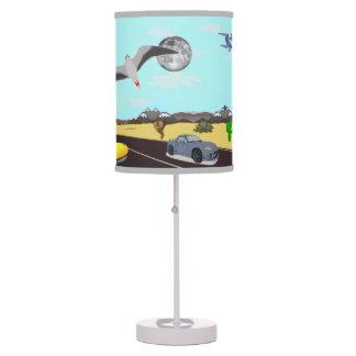 La lámpara de la historia del corredor del