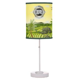 La lámpara de la historia del diseñador del