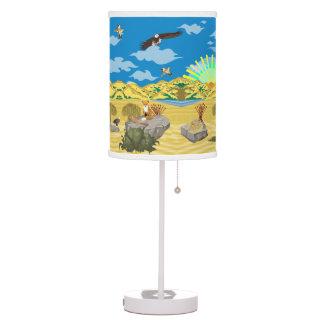 La lámpara de la historia del Golden State