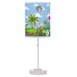 La lámpara de la historia del jardín