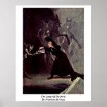 La lámpara del diablo de Francisco De Goya Posters