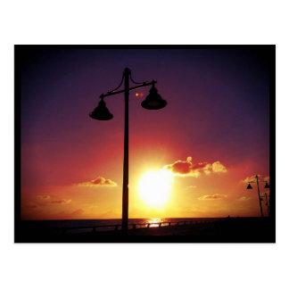 La lámpara fija Key West la Florida Postales