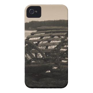 La langosta atrapa sepia Case-Mate iPhone 4 carcasa