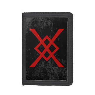 La lanza de Odin (rojo y negro, apenado)