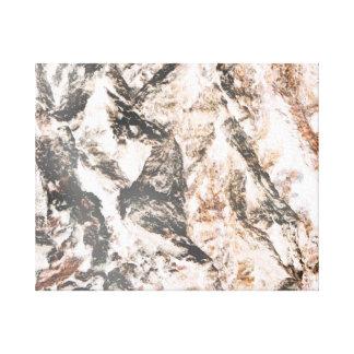 La lava invertida corteza del roble tiene gusto de impresiones en lona estiradas