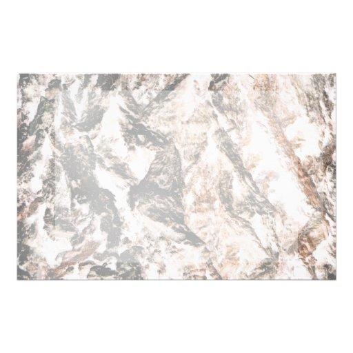 La lava invertida corteza del roble tiene gusto de papeleria de diseño