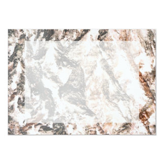 La lava invertida corteza del roble tiene gusto invitación 12,7 x 17,8 cm