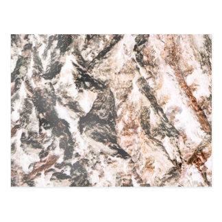 La lava invertida corteza del roble tiene gusto postal
