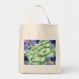 la lava soña arte abstracto nuclear bolsas de mano