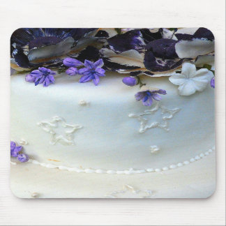 La lavanda florece el cojín de ratón tapete de ratón