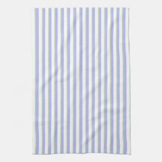 La lavanda pintada de los círculos raya la toalla