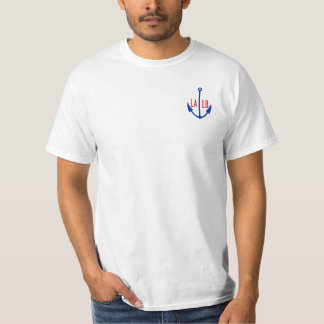 LA-LB LALB Port of LA Long Beach Anchor Shirt