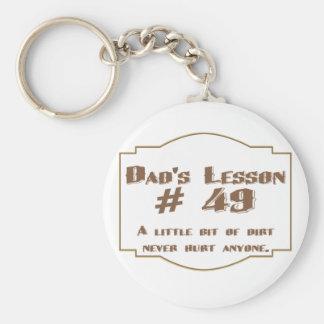 La lección #49 del papá: llaveros