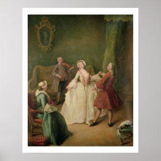 La lección de baile póster