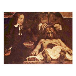 La lección de la anatomía del Dr. Joan Deyman. Por Postal
