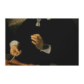 La lección de la anatomía del Dr Nicolaes Tulp 1 Impresión En Lienzo Estirada
