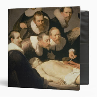 """La lección de la anatomía del Dr. Nicolaes Tulp, Carpeta 1 1/2"""""""