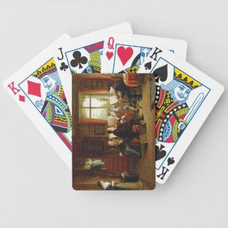 La lección de música baraja cartas de poker