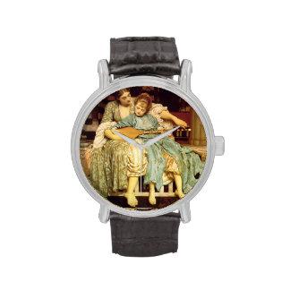 La lección de música de Federico Leighton Reloj