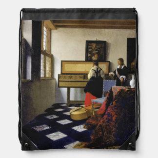 La lección de música de Juan Vermeer Mochilas