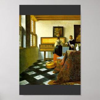 La lección de música de Vermeer Van Delft enero Impresiones