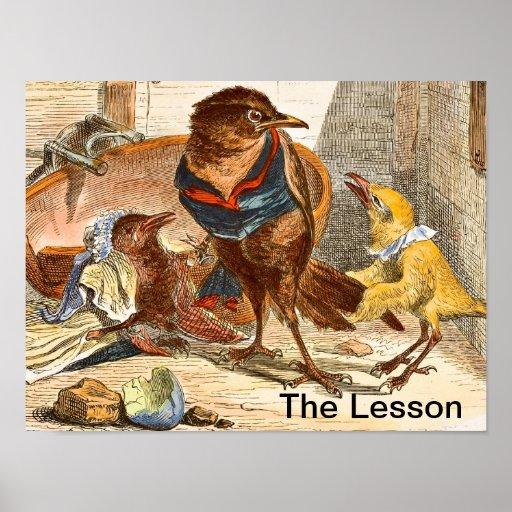 La lección - POSTER