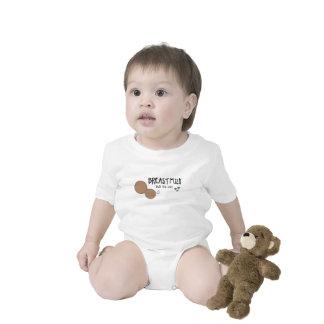 La leche materna construyó este cuerpo - estilo B Traje De Bebé