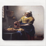 La lechera de Juan Vermeer Alfombrillas De Ratones