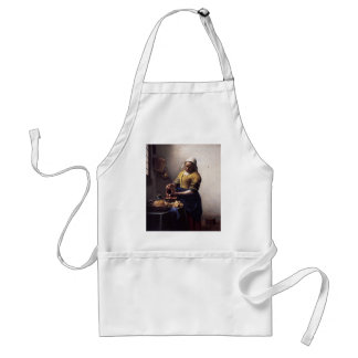 La lechera de Juan Vermeer Delantales