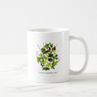 la lechuga le entretiene - luz tazas de café