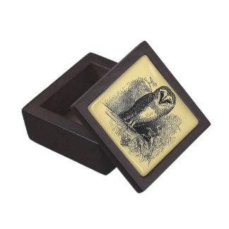 La lechuza común cajas de recuerdo de calidad