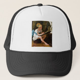 La Lecon de Dessin (The Drawing Lesson) ~ Trucker Hat