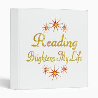 La lectura aclara mi vida