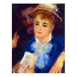 La lectura atenta de la parte de Pedro Renoir Postales