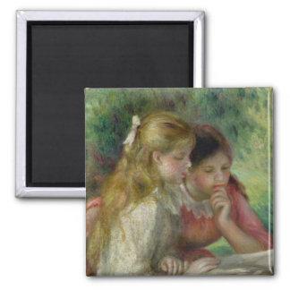 La lectura, c.1890-95 iman