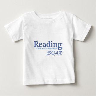 La lectura… de él deja su imaginación elevarse playera
