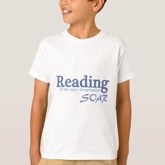 La lectura… de él deja su imaginación elevarse playeras