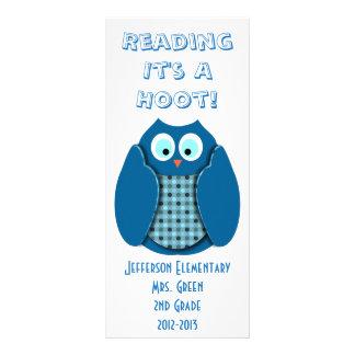 La lectura de él es un pitido tarjetas publicitarias a todo color