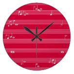 La lectura de la música bate el reloj de tiempo -
